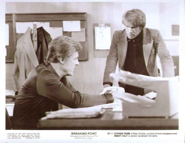 Stephen Young Robert Culp: Breaking Point 8x10 still 17