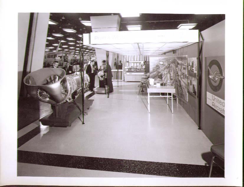 Image for Pratt & Whitney exhibit 8x10 Railroad Suppliers 1963