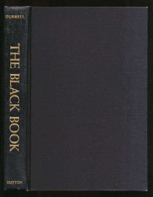Lawrence Durrell: The Black Book 1st US edition 1960