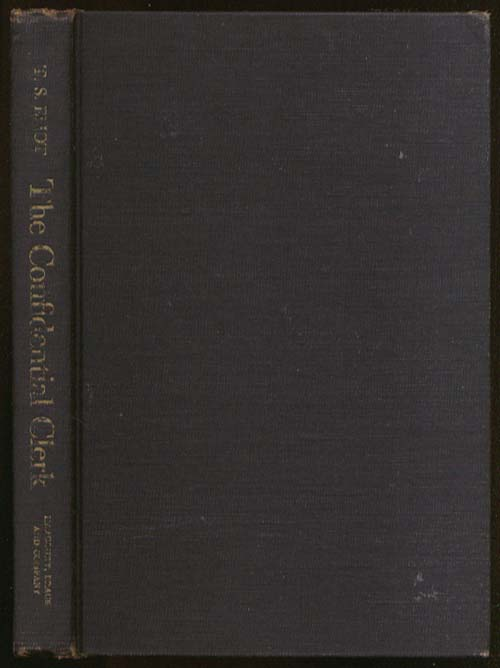 Image for T S Eliot: The Confidential Clerk 1st US edition 1954