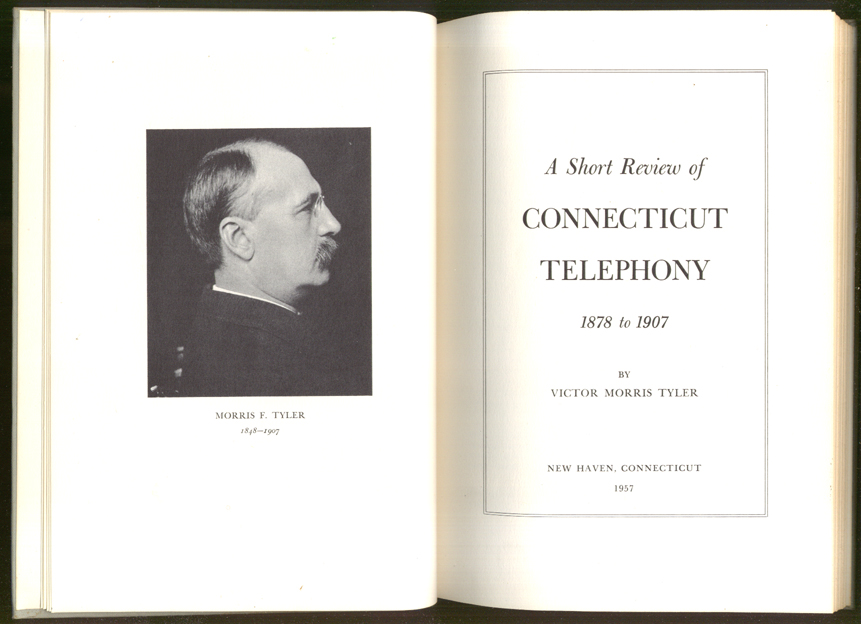 Tyler: Short Review of Connecticut Telephony 1878-1907
