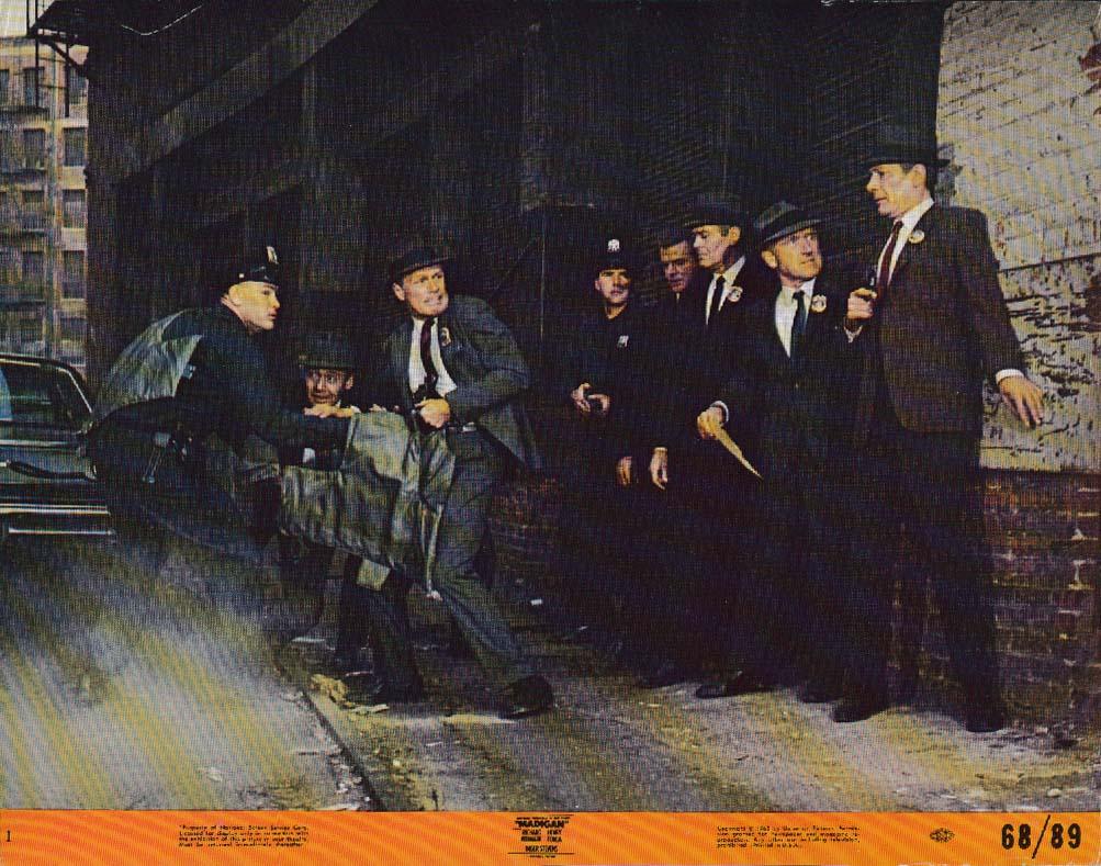 Image for Richard Widmark Henry Fonda Madigan lobby card 1968