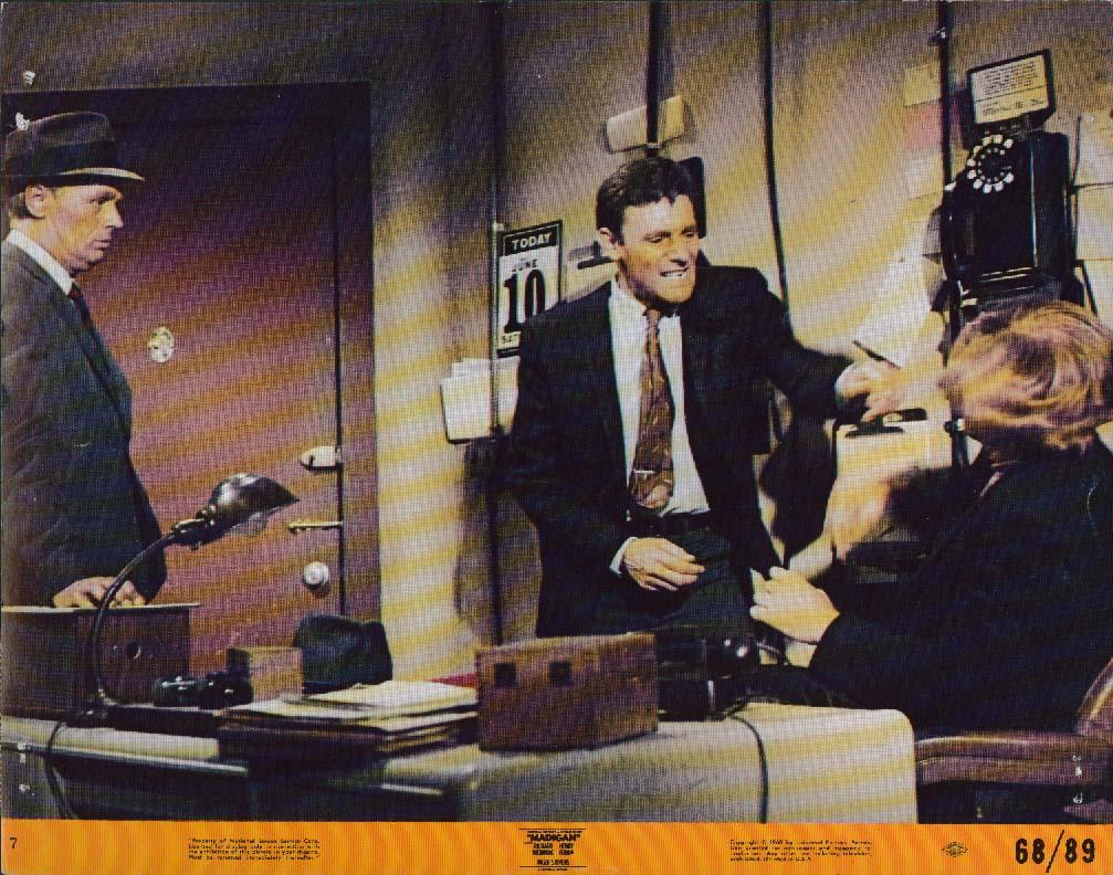 Image for Richard Widmark Harry Guardino Madigan lobby card 1968
