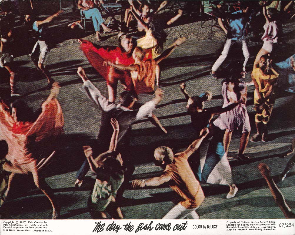 Image for The Day the Fish Came Out dancing scene lobby card 1967