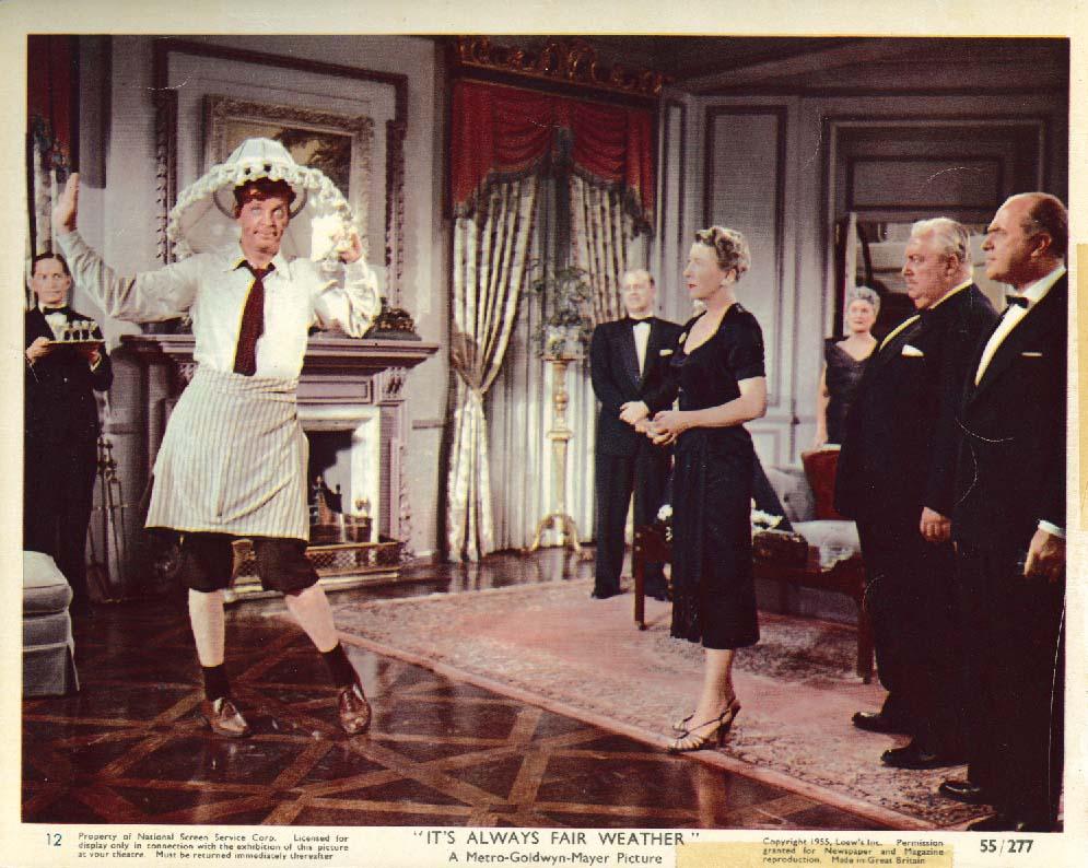 Image for Dan Dailey It's Always Fair Weather lobby card 1955