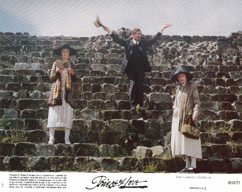 Image for Ian McKellen Suzman Priest of Love lobby card 1981