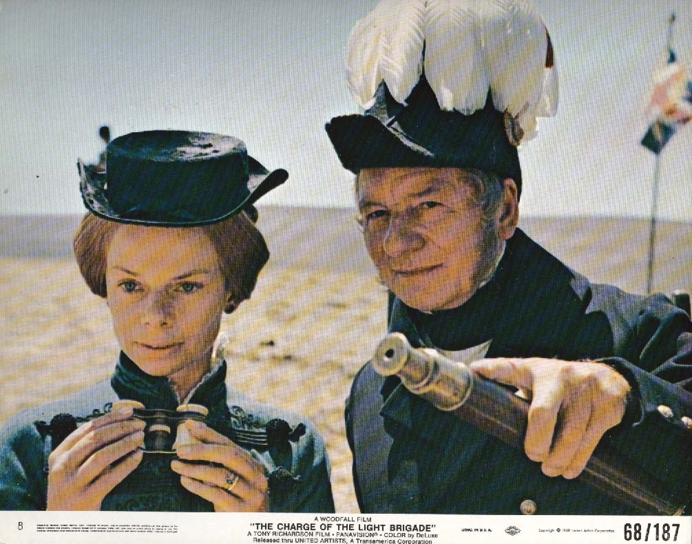 Image for John Gielgud Charge of the Light Brigade lobby card 1968