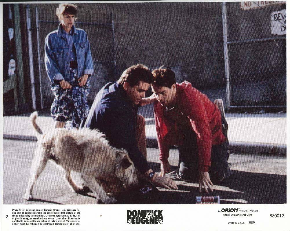 Image for Ray Liotta Tom Hulce Dominick & Eugene lobby card