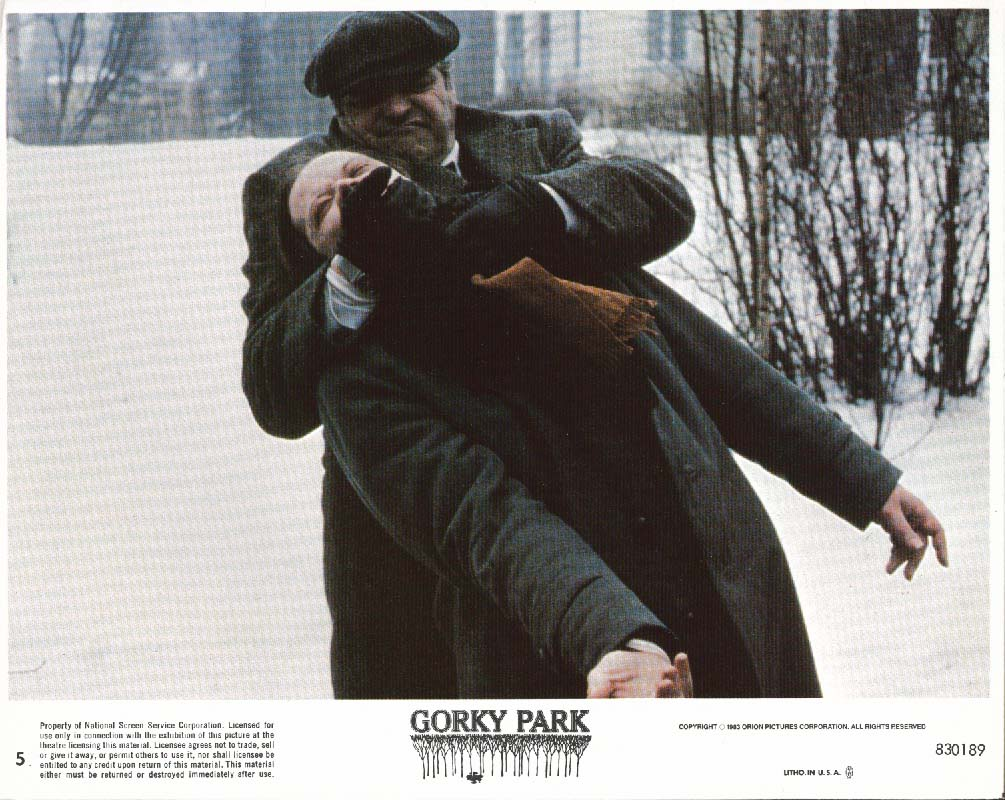 Brian Dennehy Gorky Park lobby card 1983