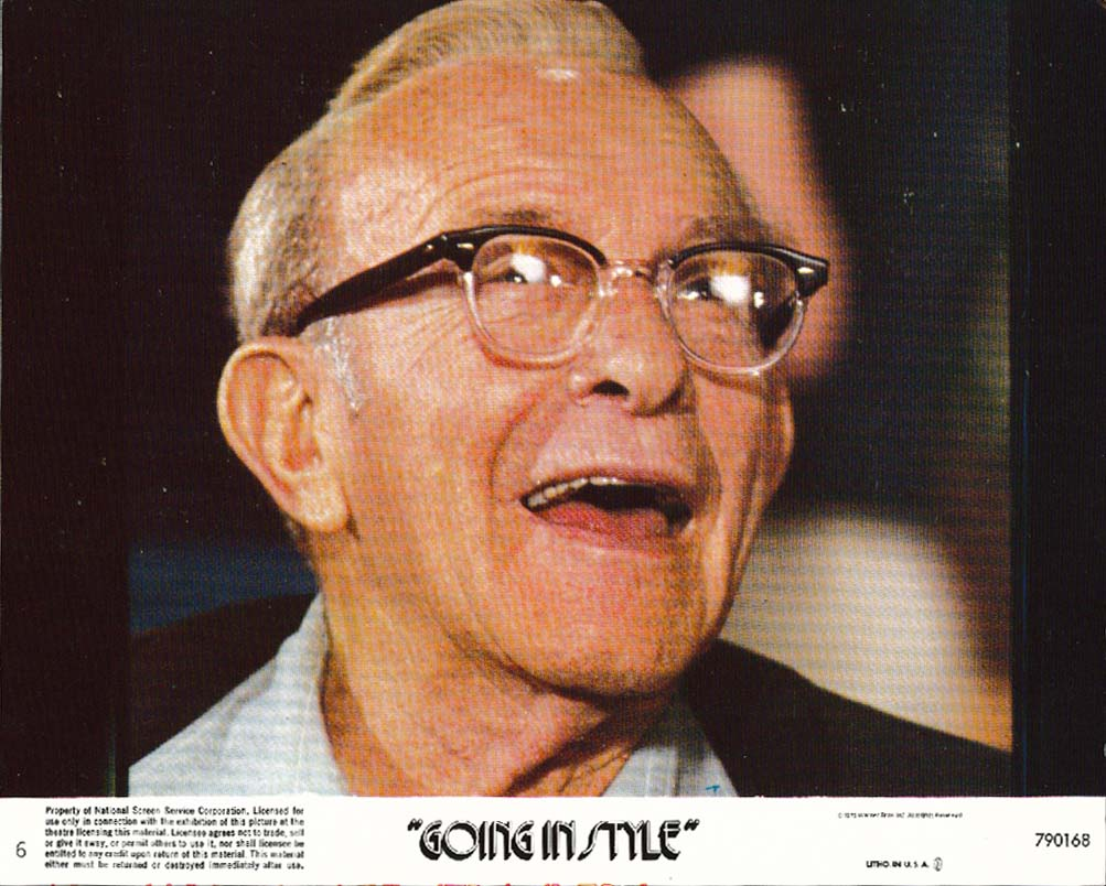 Image for George Burns Going in Style lobby card 1979