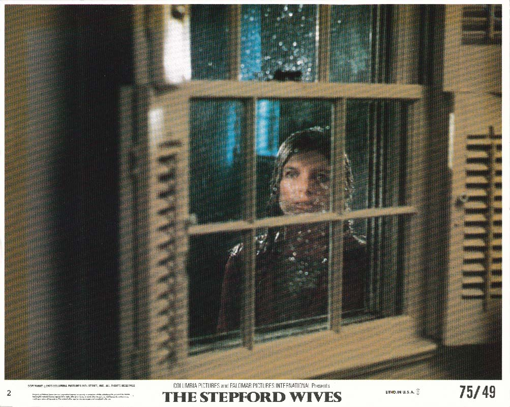 Katharine Ross The Stepford Wives lobby card 1975