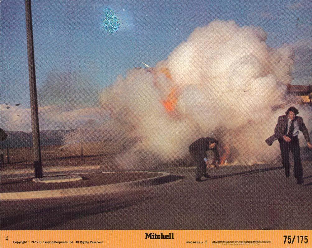 Joe Don Baker Mitchell movie lobby card 1975