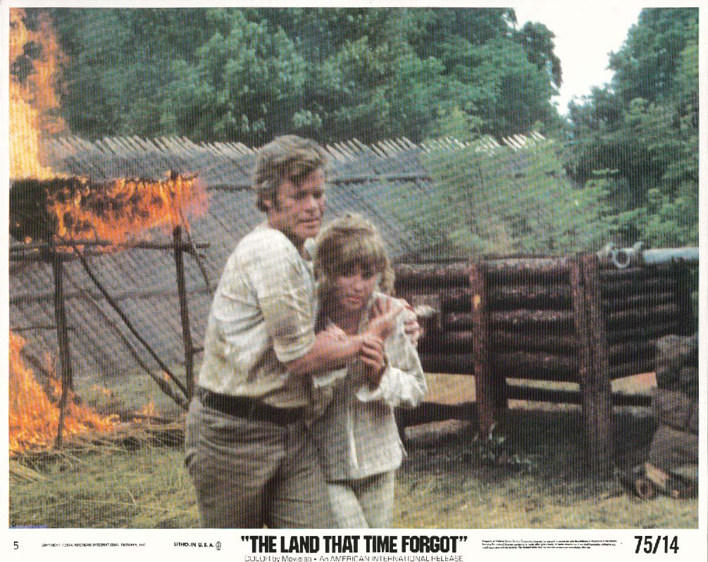 Doug McClure The Land That Time Forgot lobby card 1974