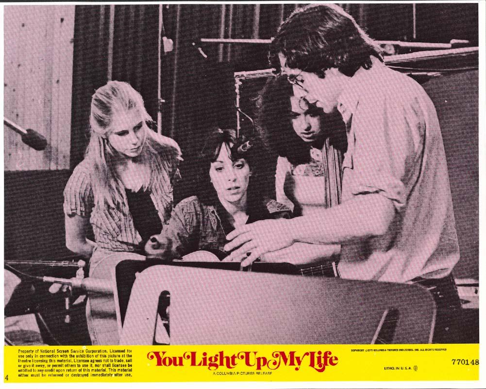 Didi Conn You Light Up My Life lobby card 1977