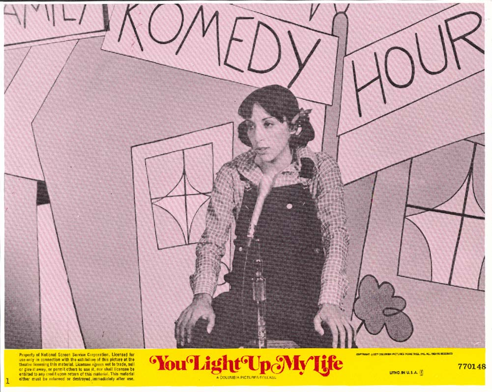 Didi Conn overalls You Light Up My Life lobby card 1977