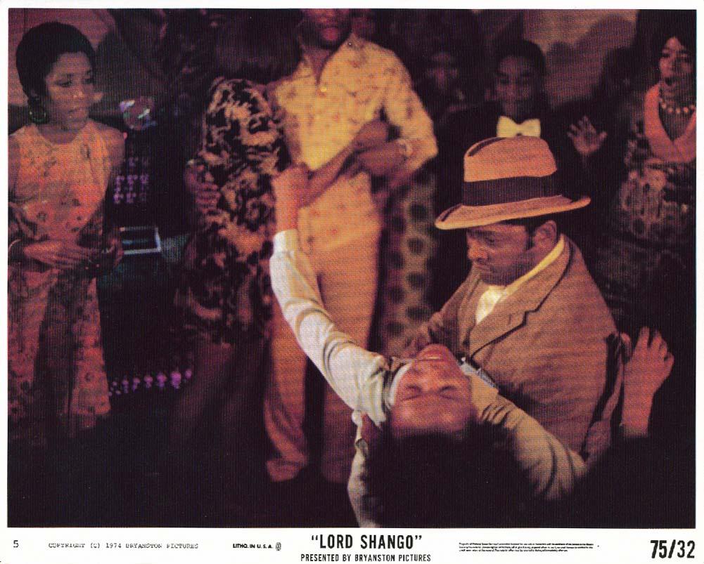 Lord Shango club scene lobby card 1974