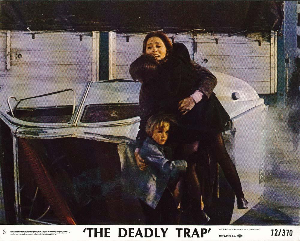 Barbara Parkins The Deadly Trap lobby card 1972
