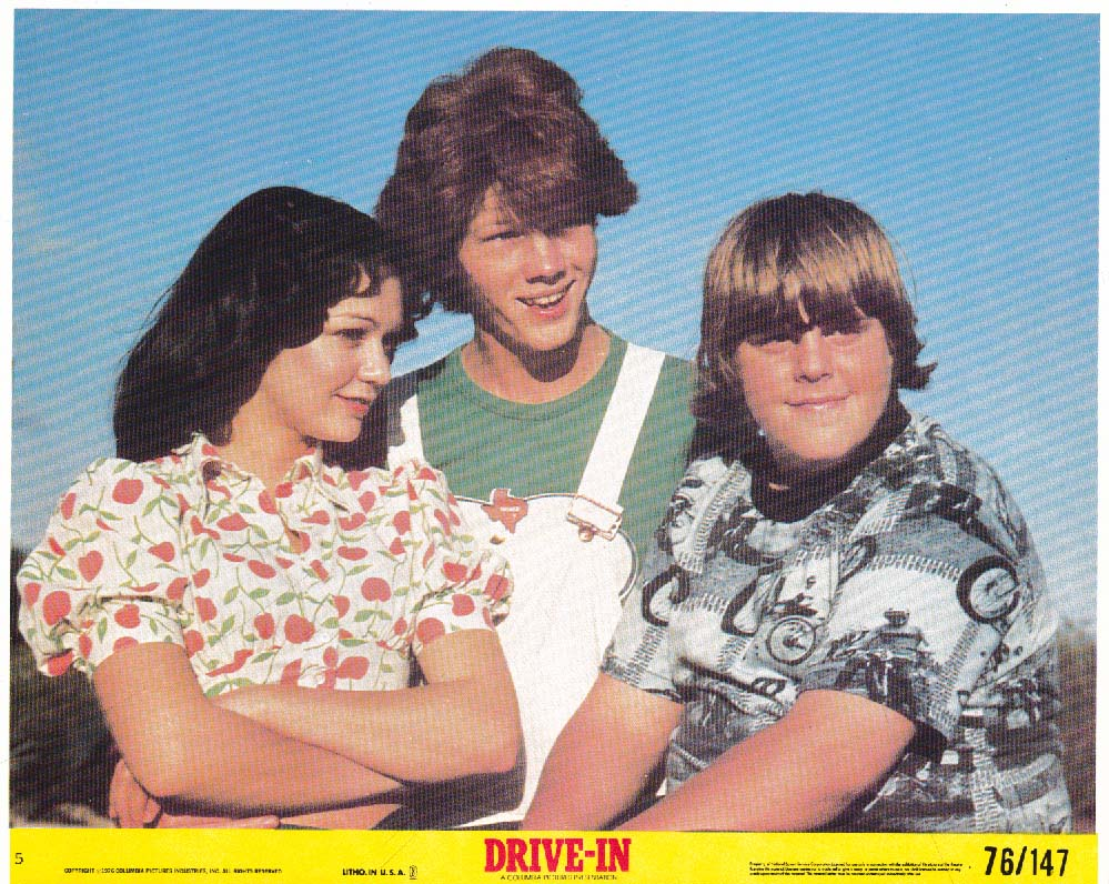 Gary Lee Cavagnaro Drive-In lobby card 1976