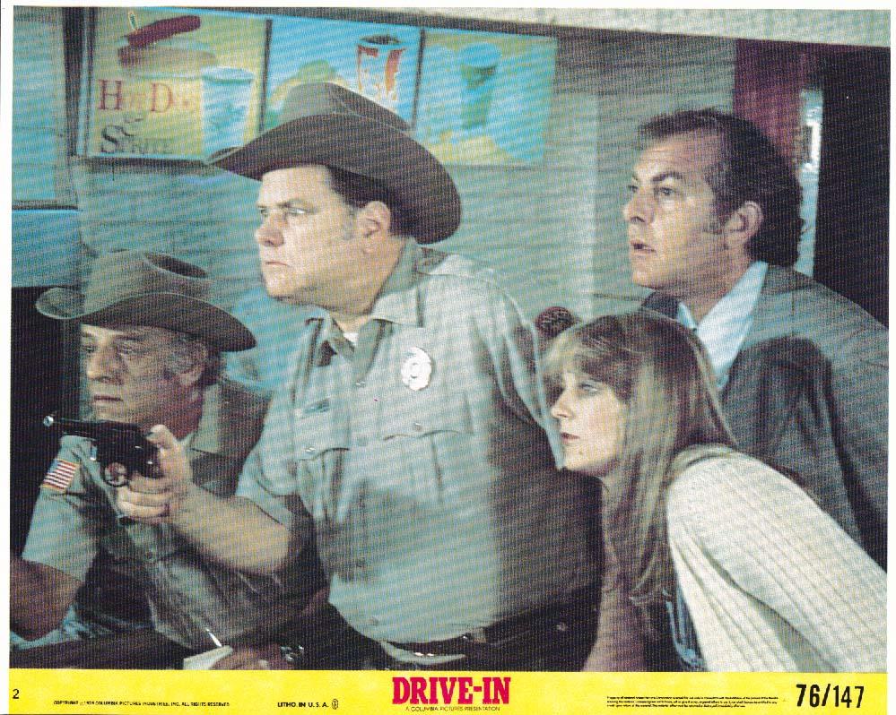 Drive-In deputies lobby card 1976