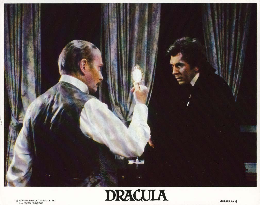 Laurence Olivier Frank Langella Dracula lobby card 1979