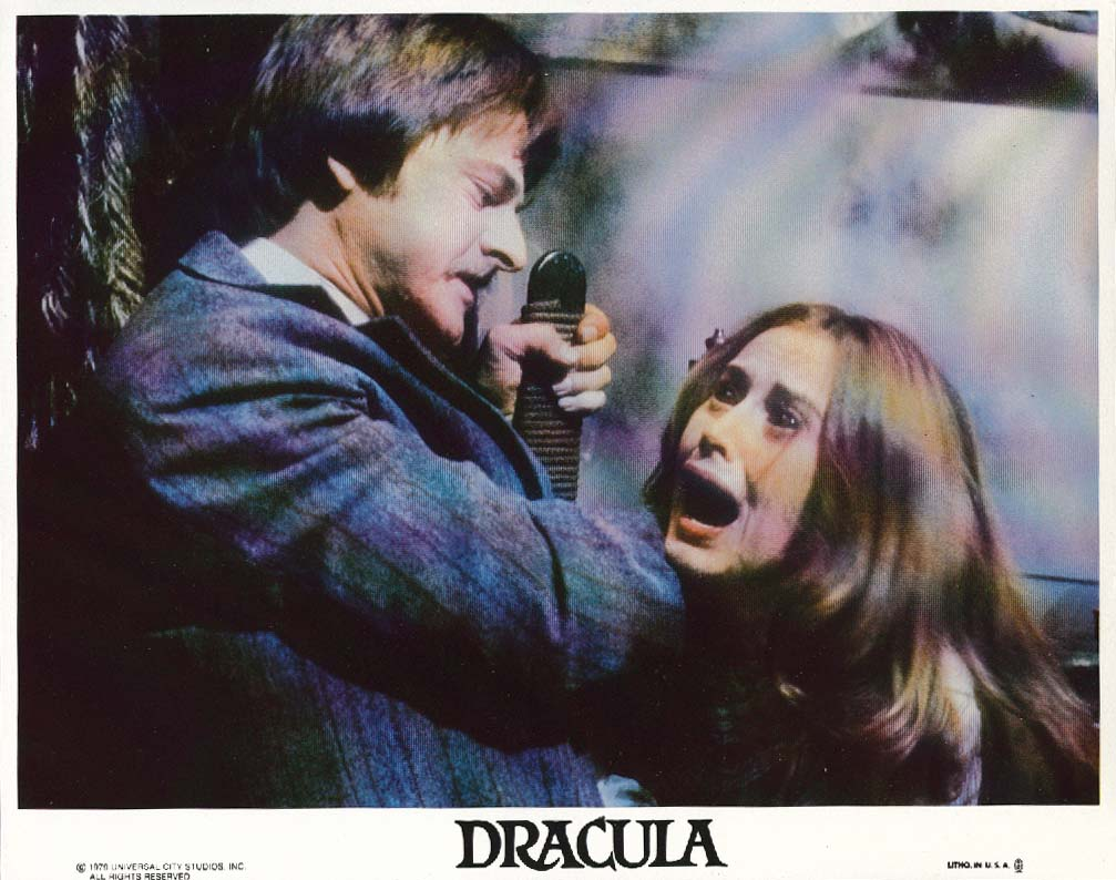 Kate Nelligan Dracula lobby card 1979