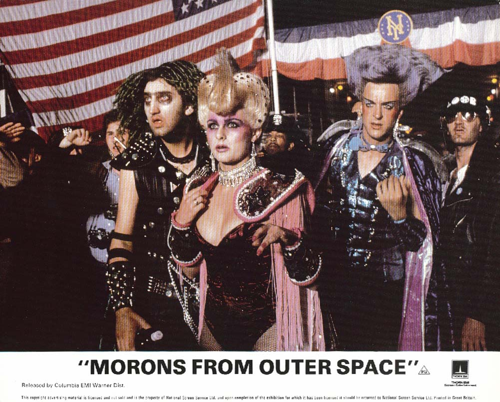 Joanne Pearce Morons from Outer Space lobby card 1985