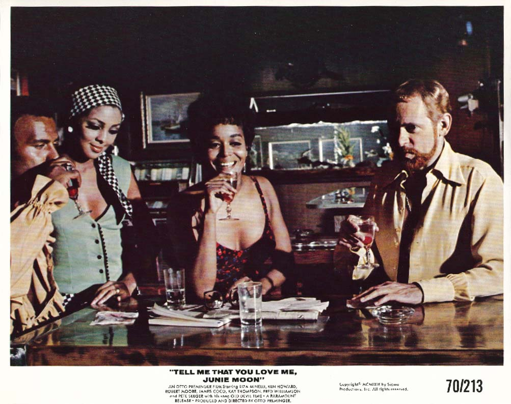 Ken Howard Fred Williamson Junie Moon lobby card 1970