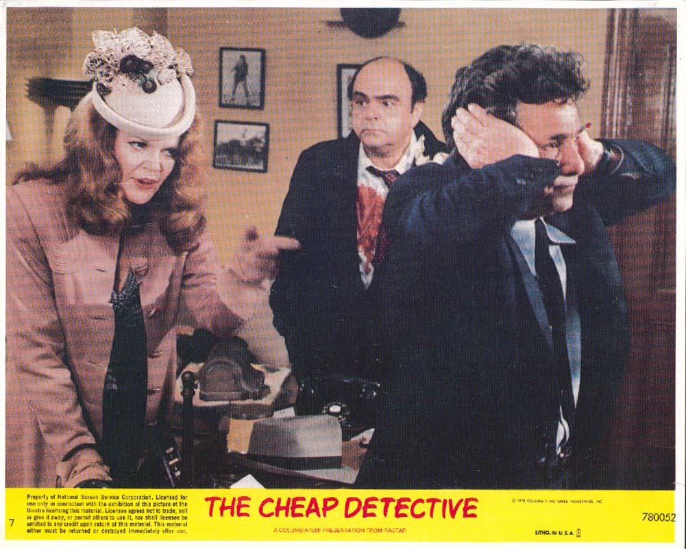 Eileen Brennan Peter Falk Cheap Detective 8x10 pic 1978