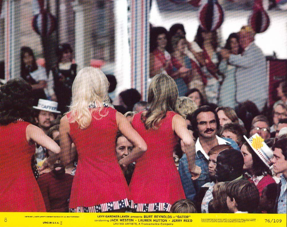 Burt Reynolds Gator lobby card 1976