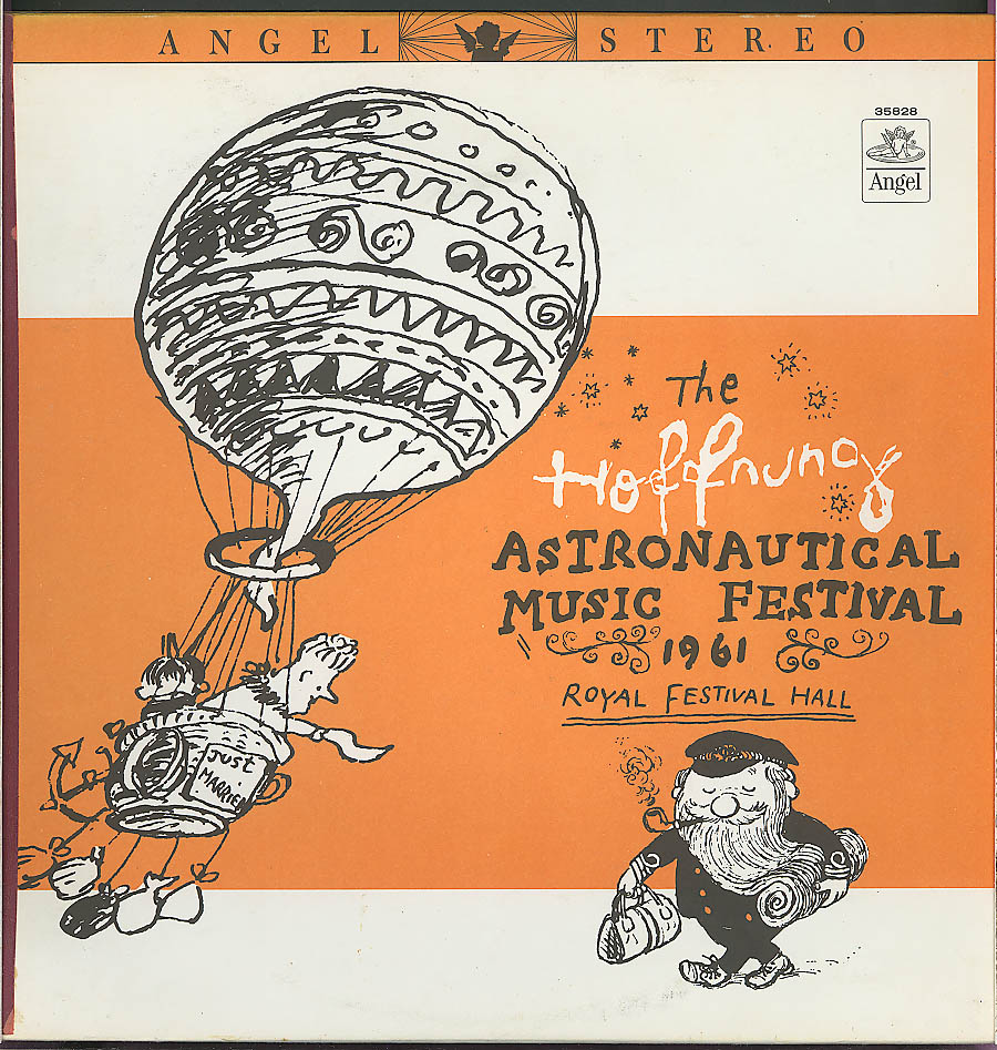 Hoffnung Astronautical Music Festival 1961 LP Angel