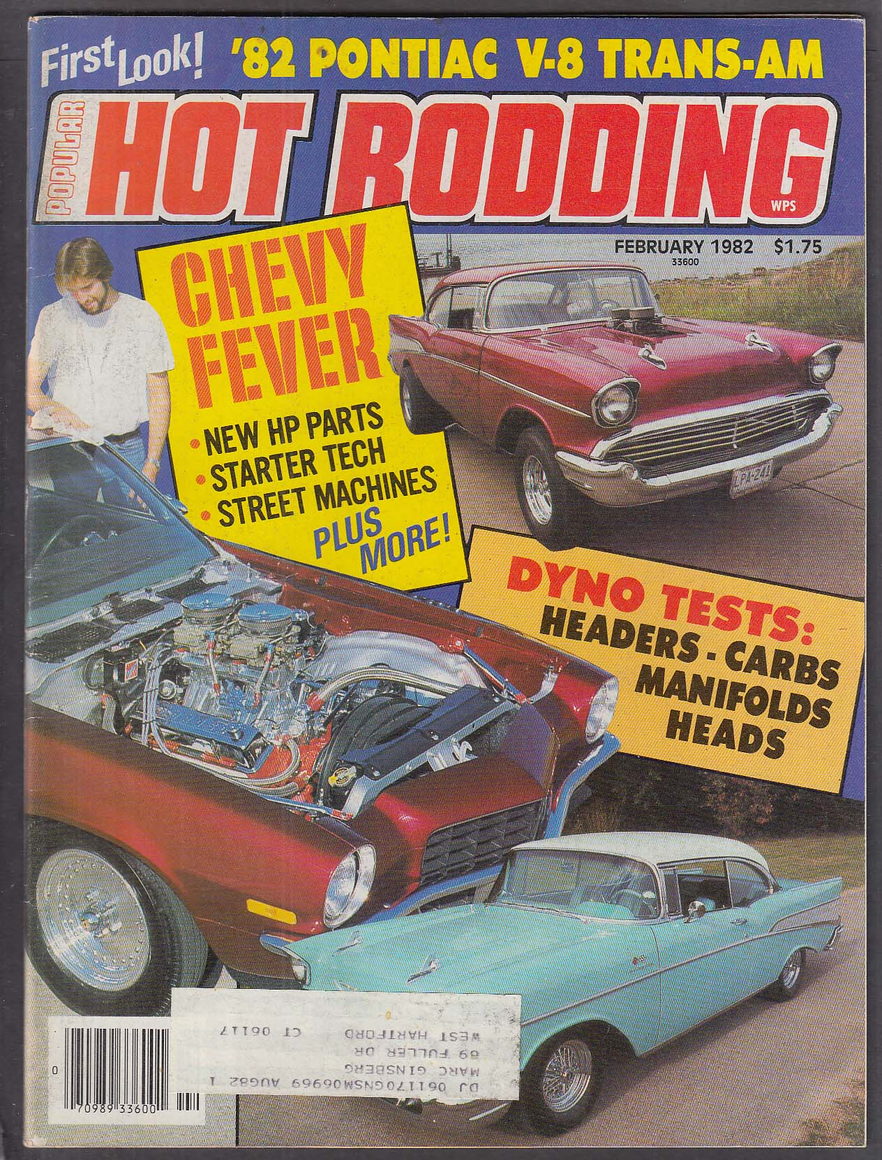 POPULAR HOT RODDING 1982 Firebird Trans-Am Chevy tech 2 1982