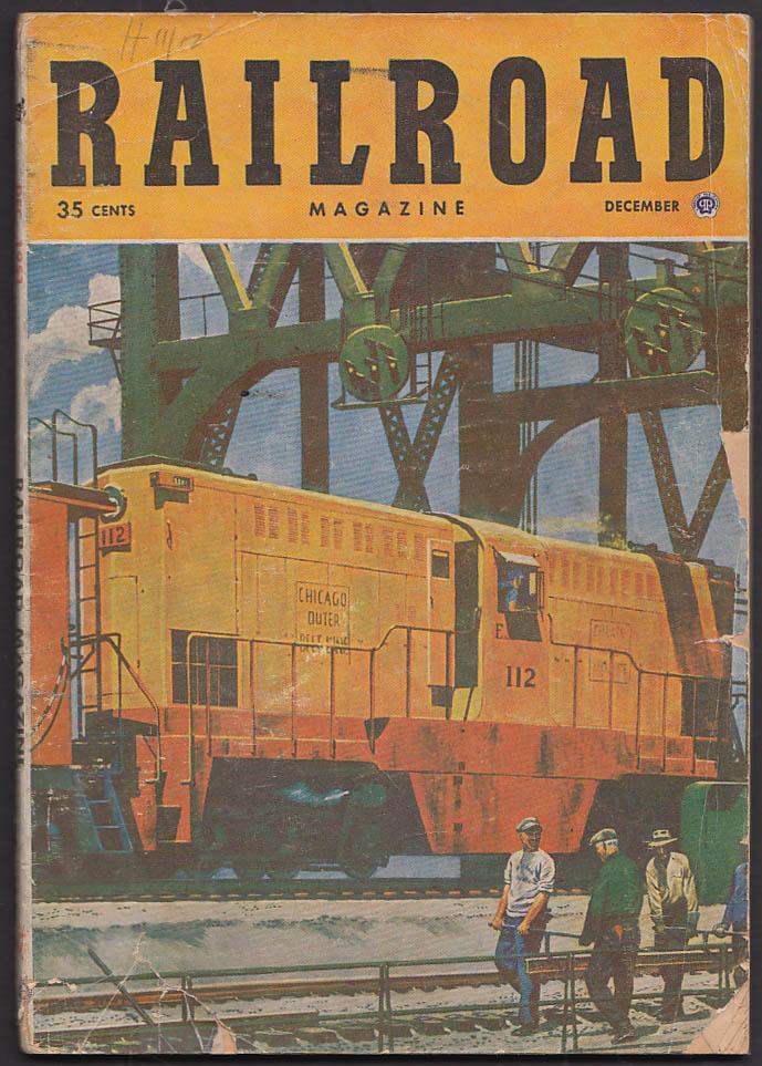 RAILROAD Duluth Missabe Iron Range NY Central IT + 12 1951