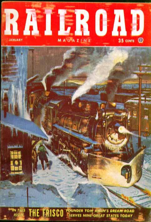 RAILROAD Western Pacific, St Louis & San Francisco + 1 1953