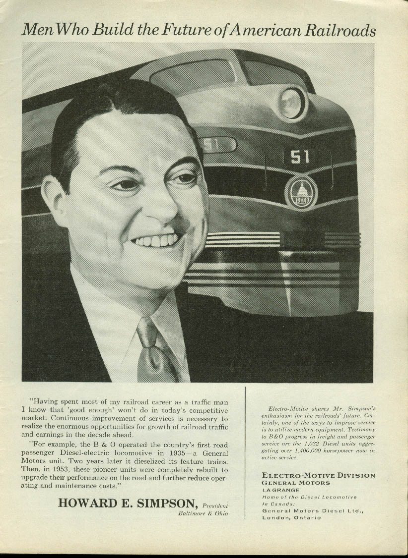 Image for Cicero Automatic Classification Yard Burlington Lines ad 1958