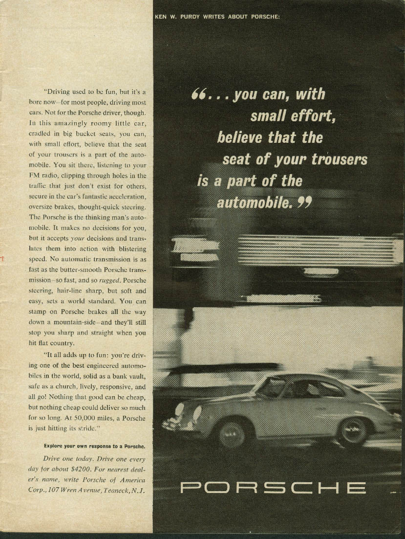 A different breed of cat Jaguar XK-E Coupe ad 1964 New Yorker