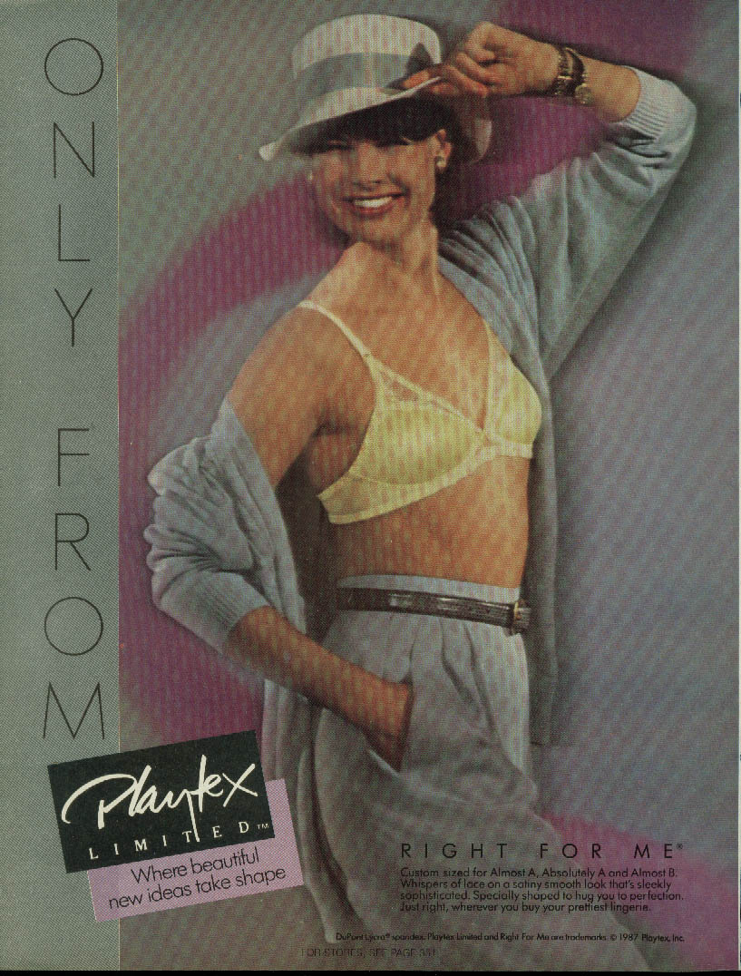Right for me Playtex Limited A-Cup Bra  1987d