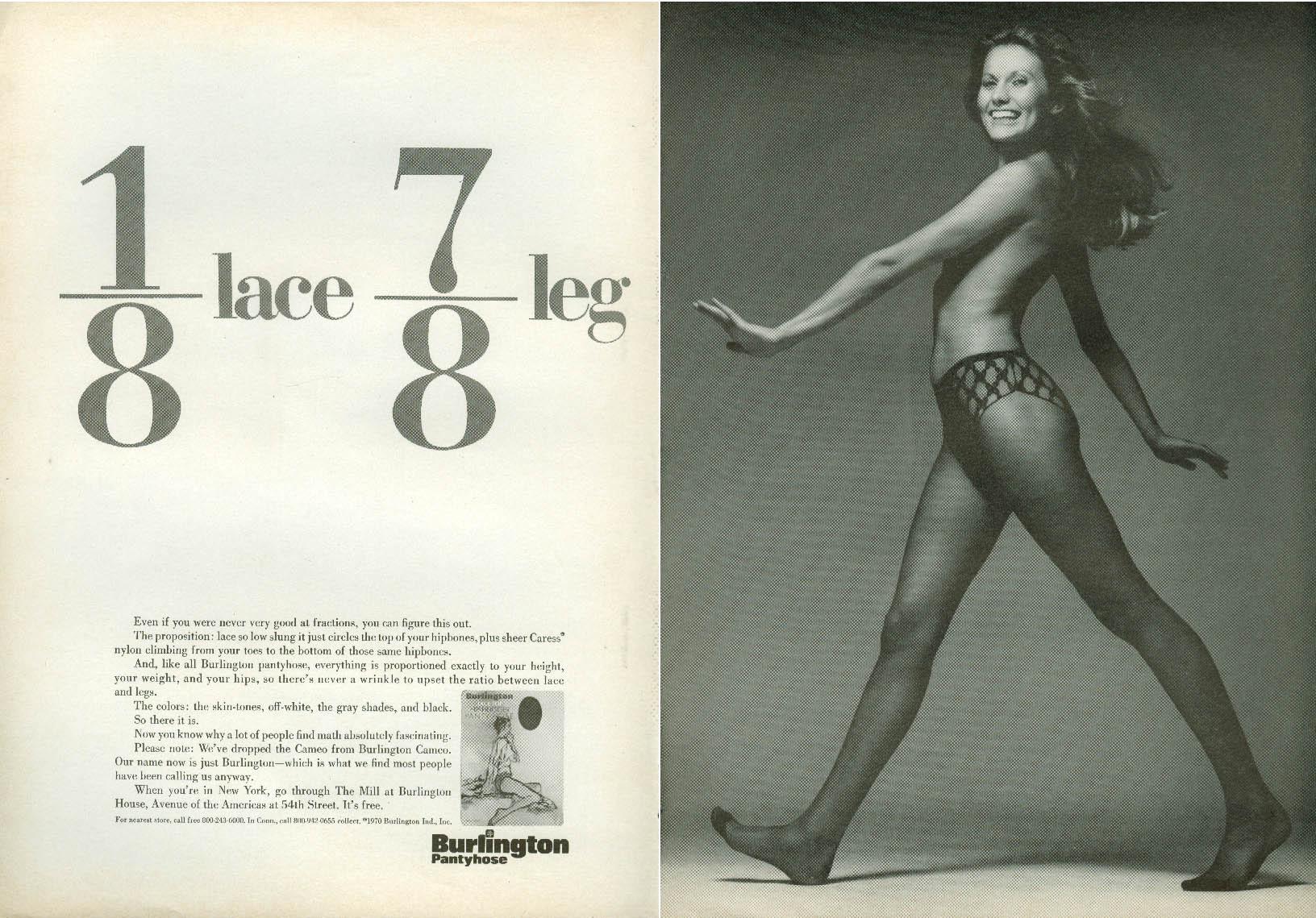 pantyhose leg ads