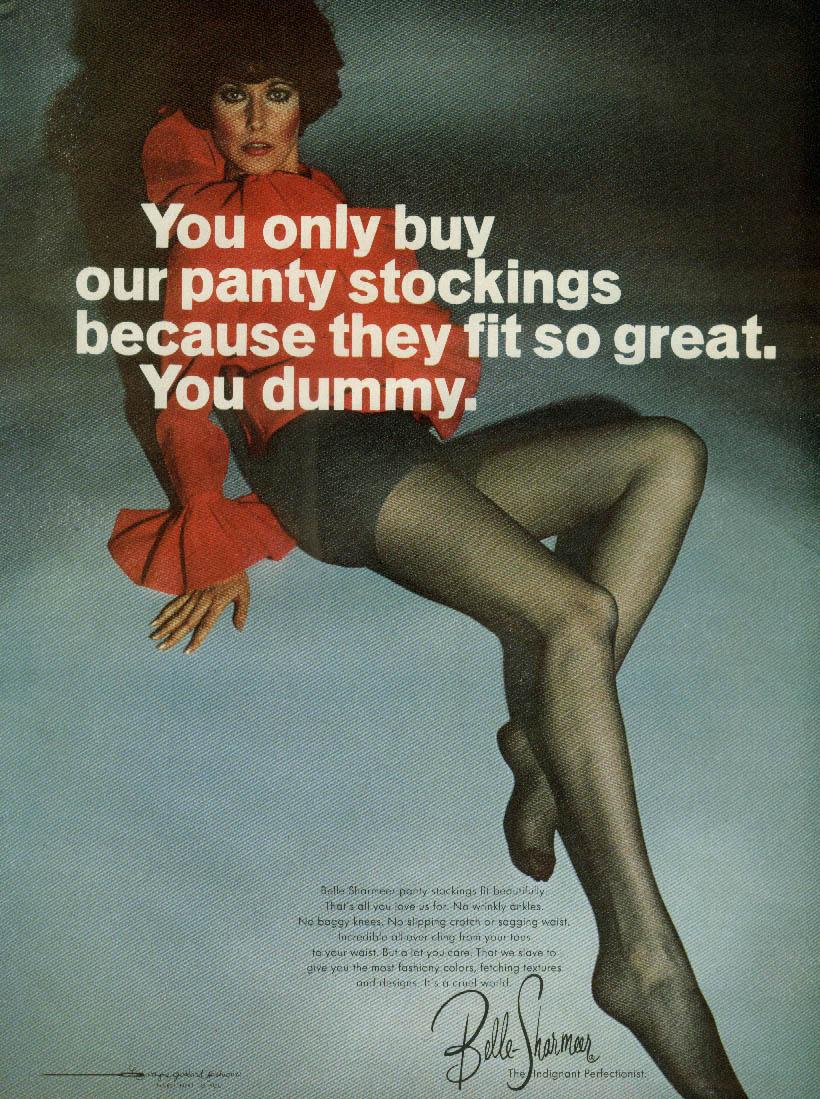 Great Pantyhose Magazine Ad 36