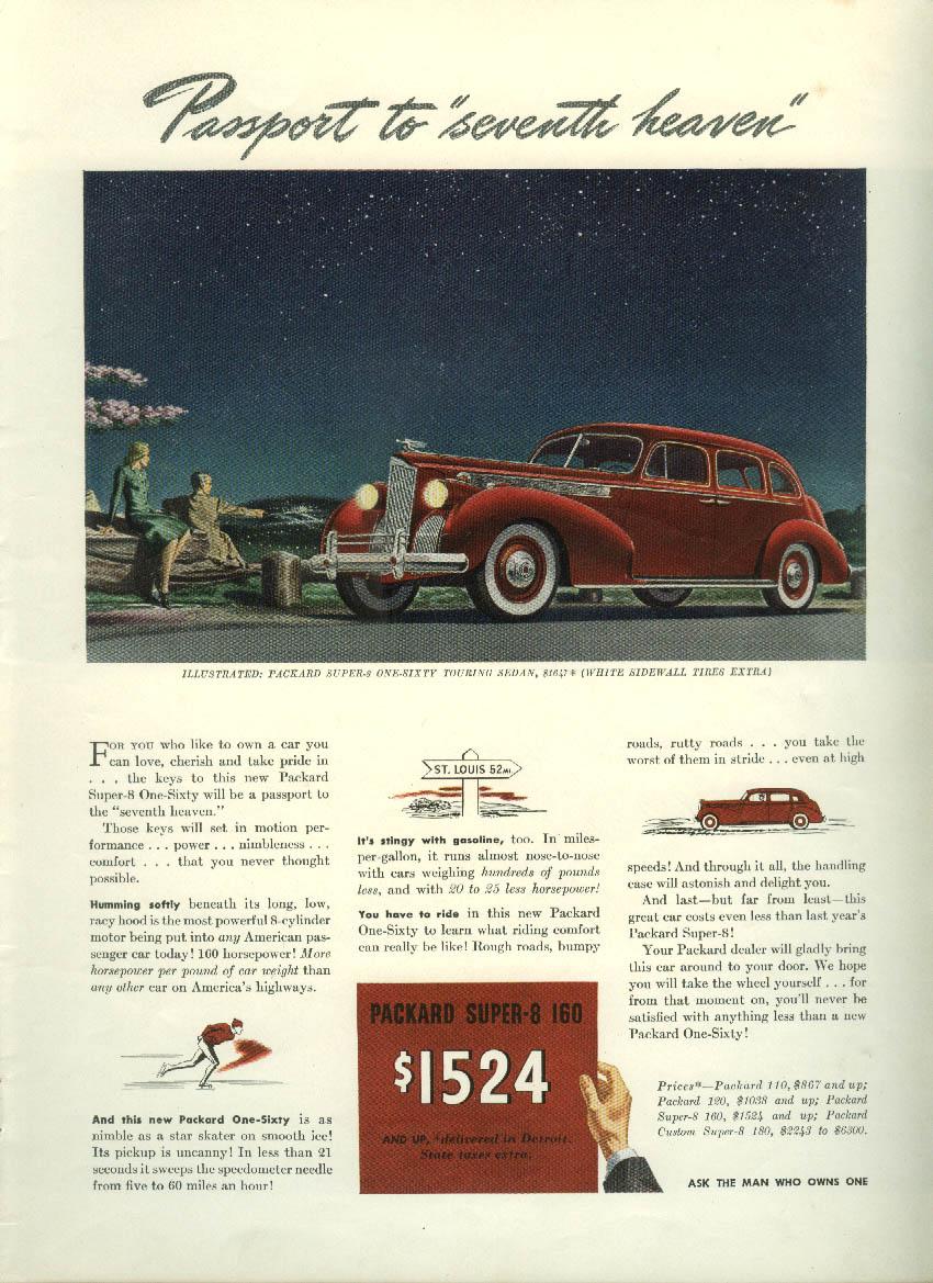 Passport to seventh heaven Packard Super-8 160 Sedan ad 1940