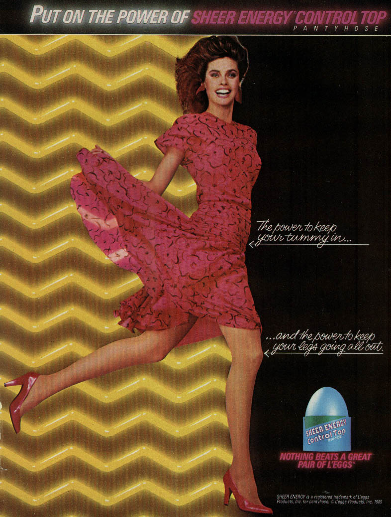 pantyhose ads for sheer energy jpg 422x640