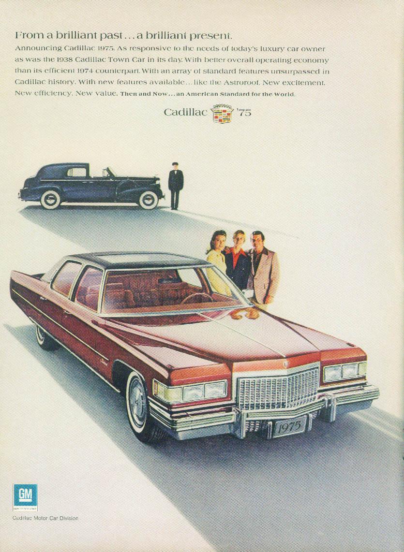 From a brilliant past a brilliant present Cadillac Fleetwood Sedan ad 1975