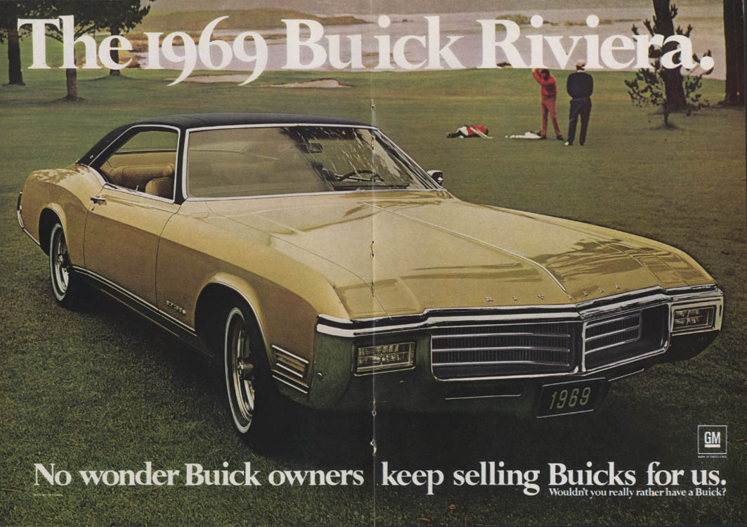 No wonder Buick owners keep selling for us Riviera ad 1969 NY