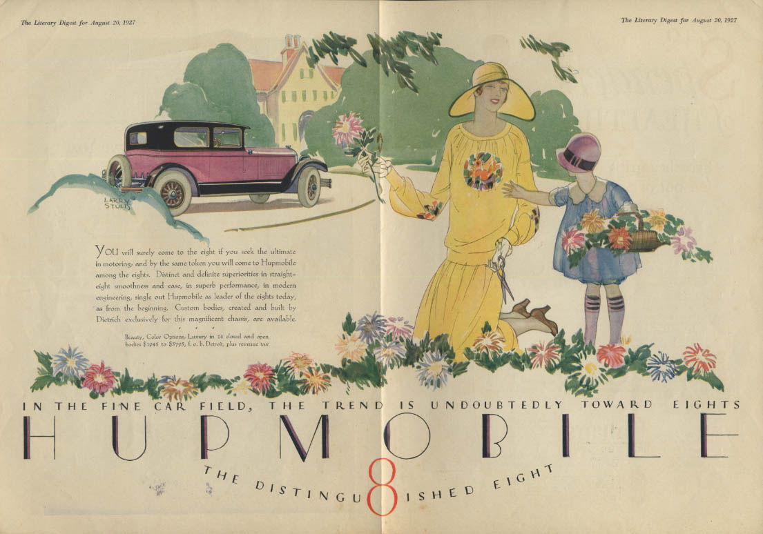If you seek the ultimate in motoring Hupmobile 8 ad 1927 LD
