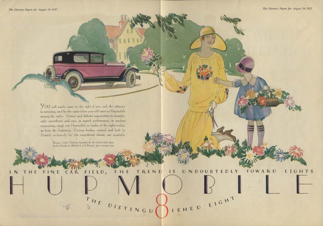If you seek the ultimate in motoring Hupmobile 8 ad 1927 LD