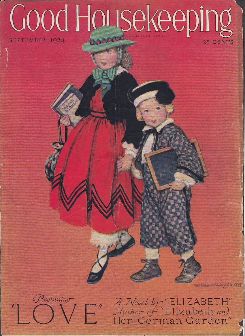 Image for Jessie Willcox Smith Good Housekeeping COVER ONLY 9 1924