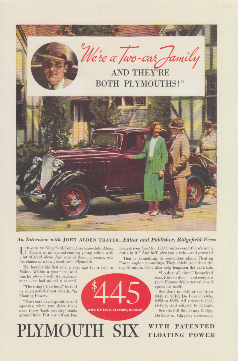 Doormen will find it difficult to restrain themselves Pierce-Arrow ad 1934 T
