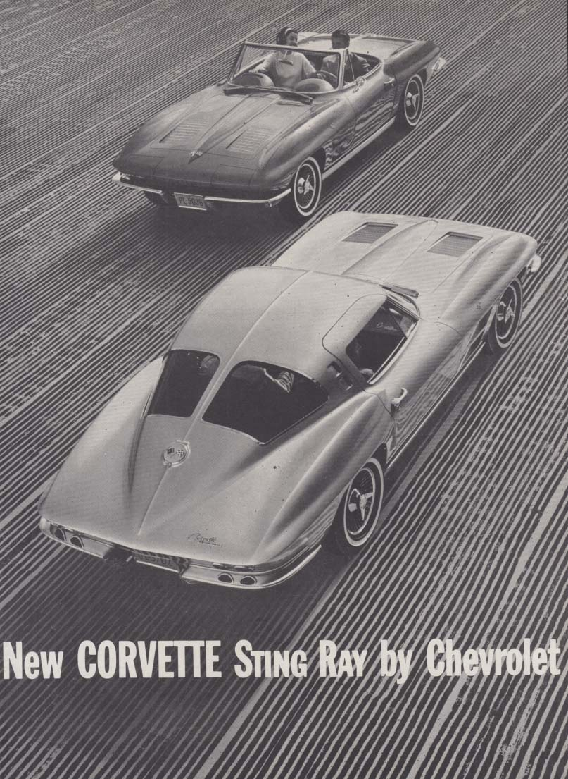New Corvette Sting Ray by Chevrolet ad 1963 R&T