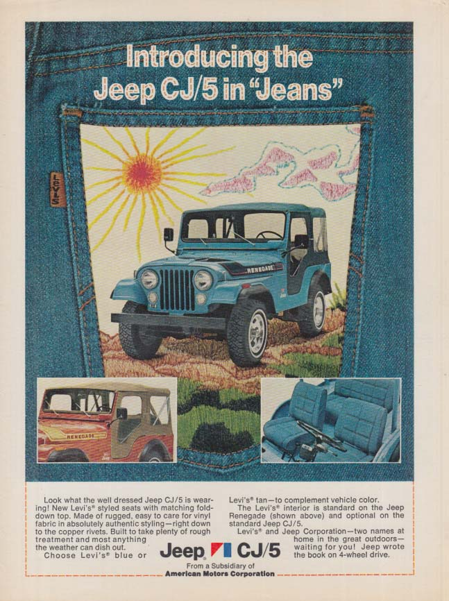 Image for Jeep Sheik inspired by exotic wind-blown sandscapes Jeep Wrangler Sahara ad 1988