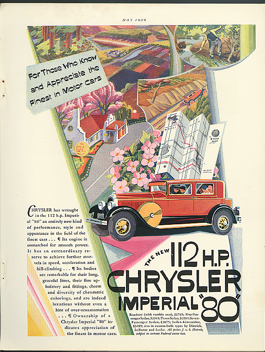 Image for For those who appreciate the finest Chrysler Imperial 80 ad 1928