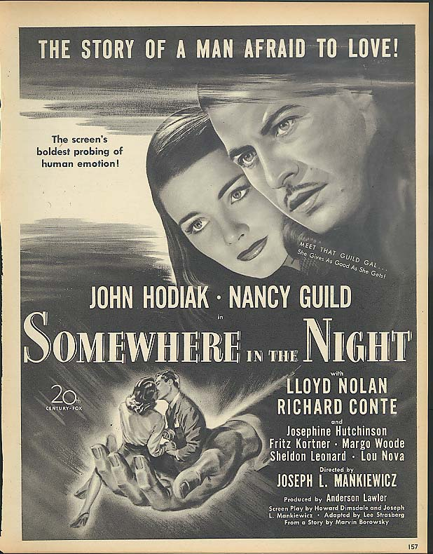 Somewhere in the Night film  WikiVisually